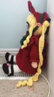 Crochet Shinku (Rozen Maiden) side by Maw1227