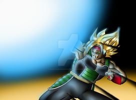 SSJ Bardock remasterd by ShinTheDragonFighter