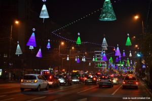 holiday lights by Iulian-dA-gallery