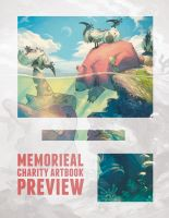 Memorieal Charity Artbook (preview!) by KristenPlescow