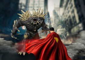 Superman-Doomsday by bolloboy