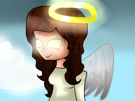 Angel from the Sky by BronyCrafterQueen