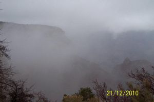 Grand Canyon just before a storm by jfahrlender