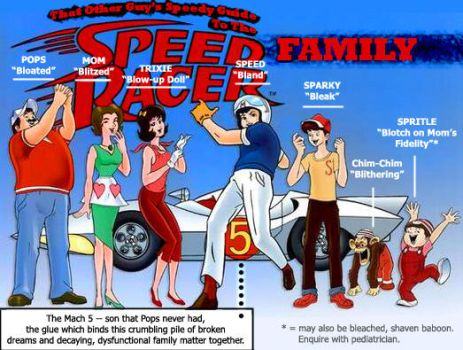 Speed Racer Family Breakdown by Some-Other-Guy