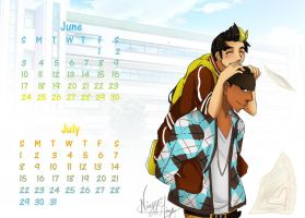 .::June, July- MoGlitch::. by Ningyo-Mizu