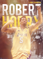 Robert Horry Lakers by RafaelVicenteDesigns