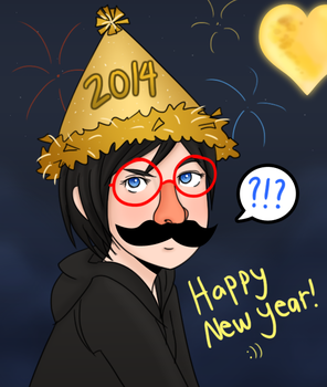 New Year 2014 by janelvalle