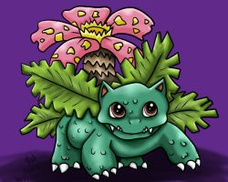 Venusaur by Animal-and-anime-lvr
