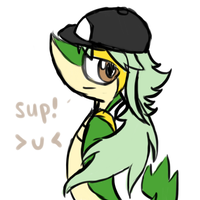 SNIVY IS N by karoii