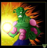 Piccolo... Angry... by darkly-shaded-shadow