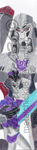 Megatron and Slipstream bookmark by Metalchick36
