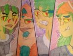 TD Mutant group 9 by Chickie456