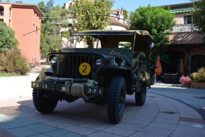 Equipped Jeep of American Army of 1944 by A1Z2E3R