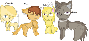 Cats by angel-san-kitty12