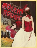 Costume Figure - Moulin Rouge by Changinghand
