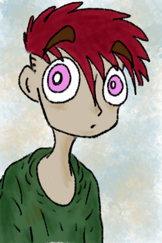 Angus drawn on drawing tablet by Gourlish