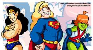 Commission - The SuperRoomies by JamesmanTheRegenold