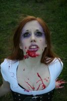 Zombie Girl 01 by Aurora-Dawn