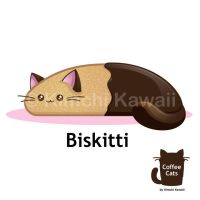 Kawaii Biskitti Biscotti by kimchikawaii