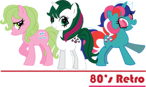 80's Ponies by Jetti-G