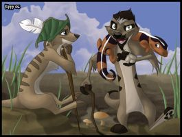 Karoo and the Storyteller by stuffed