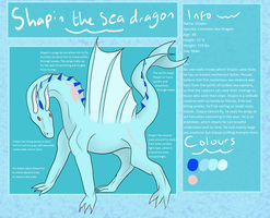 Shapin the sea dragon reference by Orochising