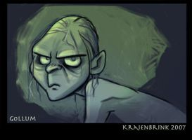 Gollum by kayjkay