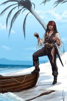 Captain Jack Sparrow 2 by VinRoc