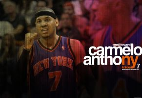 Carmelo Anthony Wall NYC by IshaanMishra
