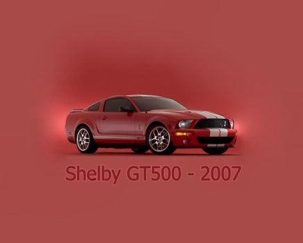 Shelby GT 500 - 2007 by shelbygt