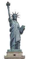 statue of liberty png by DIGITALWIDERESOURCE