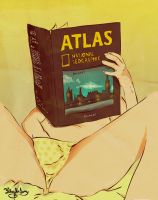 ATLAS masturbing . by x-m4n