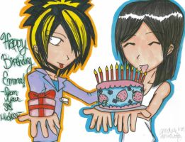 From Toshiya and Kanon. by Unichi