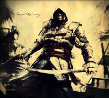 Edward Kenway-AC IV Black Flag by Clay-zius399