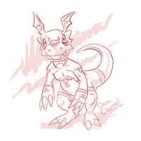 guilmon002 by Dark-Clefita