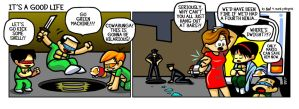 It's a Good Life 05.19.11 by ninjaink