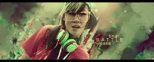 Battle Tina Ease signature by eaSe-one