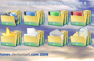 Windows 7 folders 4 by tonev