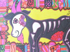 Day of the Dead Goat by ToniTiger415