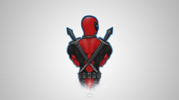 Deadpool Wallpaper by OfficialJellyArt