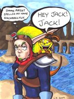Jak and His Obnoxious Animal by TipsyMcBoozerton