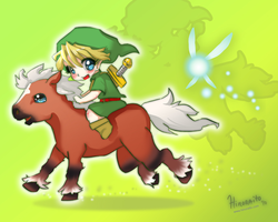 Link - Ocarina of Time by hinoraito