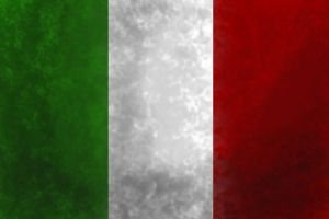 Old and Worn: Italian Flag by tattoartist9