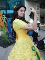 Belle cosplay - we can do it by SugarMimika