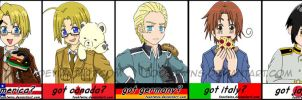 Got Series -- Hetalia Group by ToonTwins