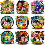 Dragonball Saga Complete Icon Set by DarkSaiyan21