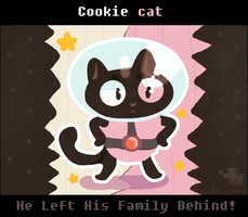 Cookie Cat! {Steven Universe} by Ao-No-Lupus