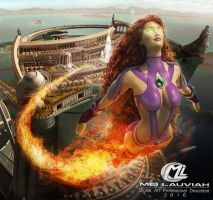Starfire DC League of Justice by Maryneim