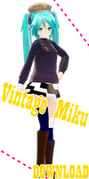 Appearance Vintage Miku [DOWNLOAD] by jangsoyoung