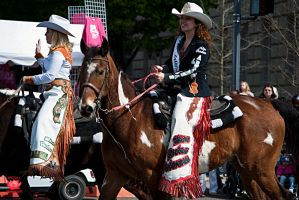 Cowgirls and Horses by MeKamalaPhotography